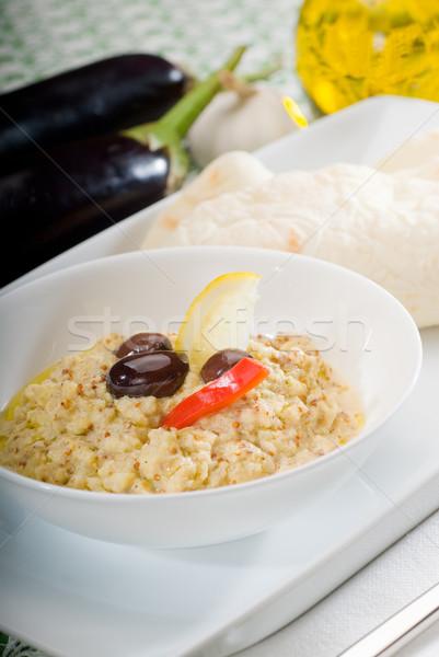 Vers eigengemaakt schotel voedsel olie Stockfoto © keko64