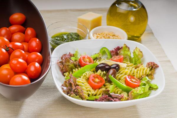 italian fusilli pasta salad Stock photo © keko64
