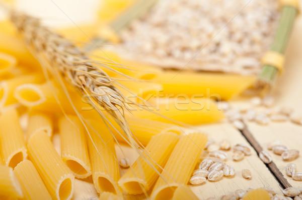 Italiano macarrão trigo curto Foto stock © keko64