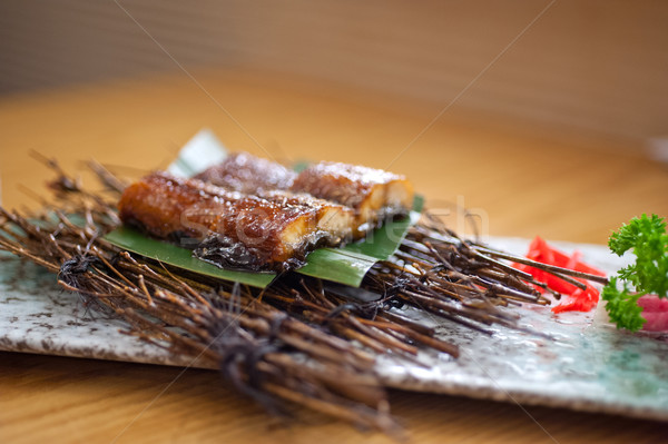 Japanese style roasted eel  Stock photo © keko64