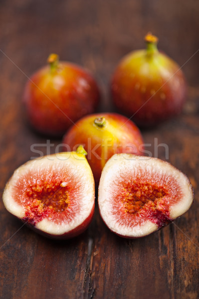Taze eski ahşap makro gıda meyve Stok fotoğraf © keko64