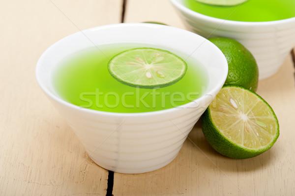 green lime lemonade  Stock photo © keko64