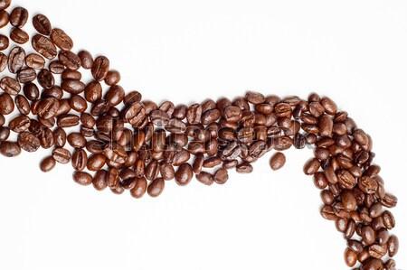 cofee beans road Stock photo © keko64