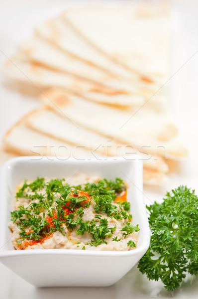 moutabal baba ghanoush eggplant dip Stock photo © keko64