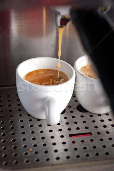 эспрессо кофе профессиональных машина итальянский Сток-фото © keko64
