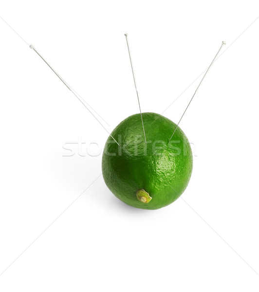 lime and needle Stock photo © keko64