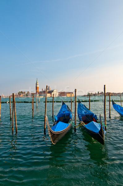Венеция Италия канал известный лодка воды Сток-фото © keko64