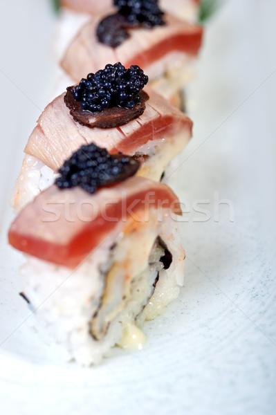 Taze sushi seçim kombinasyon makro Stok fotoğraf © keko64