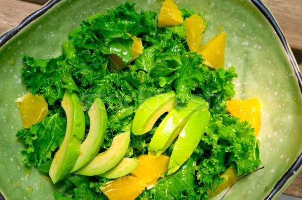 fresh avocado salad  Stock photo © keko64