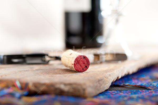 red wine tasting  Stock photo © keko64