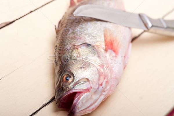 fresh whole raw fish Stock photo © keko64