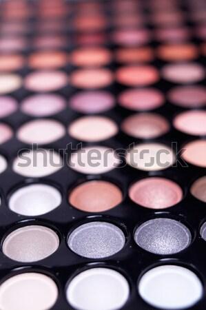 Fard à paupières palette professionnels extrême Photo stock © keko64