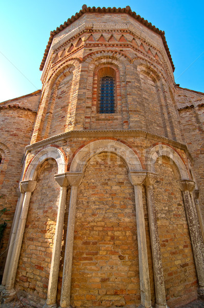 Venice Italy Torcello Cathedral of Santa Maria Assunta Stock photo © keko64