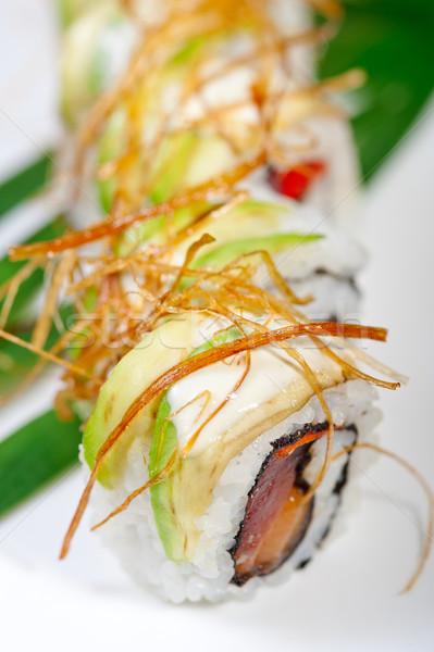 Frescos sushi elección combinación macro Foto stock © keko64