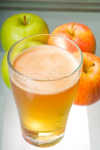 fresh apple juice Stock photo © keko64