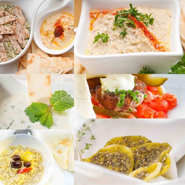 Orta Doğu gıda kolaj Arap orta doğu toplama Stok fotoğraf © keko64