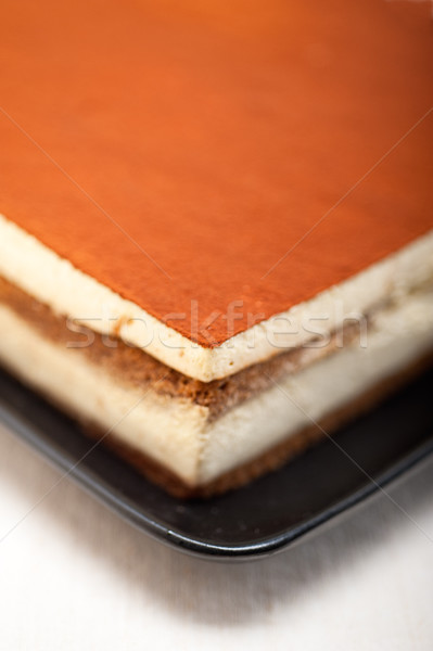 home made tiramisu dessert  Stock photo © keko64