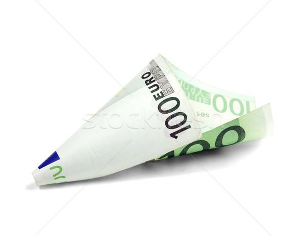 one undred euro bill  Stock photo © keko64