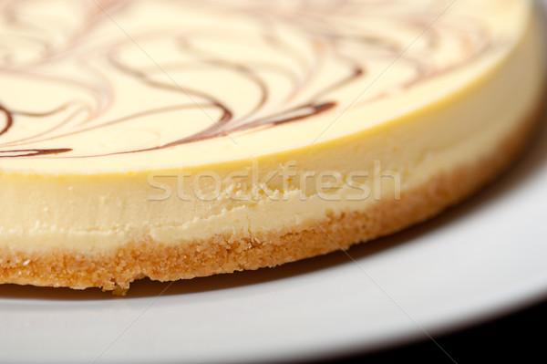 ストックフォト: チーズケーキ · 新鮮な · チョコレート · 食品