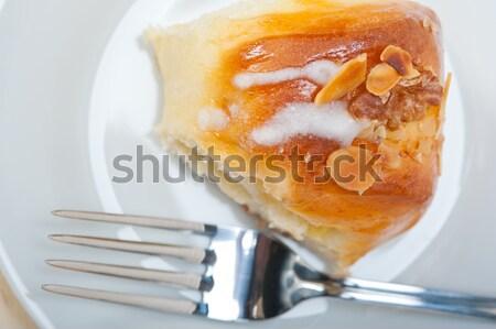 Stockfoto: Zoete · brood · donut · cake · vers · home