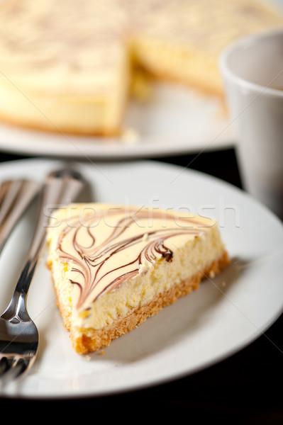 チーズケーキ エスプレッソ コーヒー 新鮮な ストックフォト © keko64