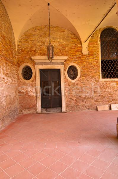 Venice Italy scuola dei Carmini Stock photo © keko64