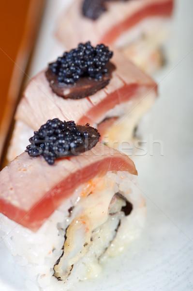 свежие суши выбора комбинация макроса Сток-фото © keko64