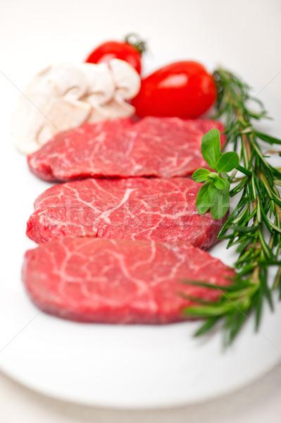 Kobe Miyazaky beef Stock photo © keko64