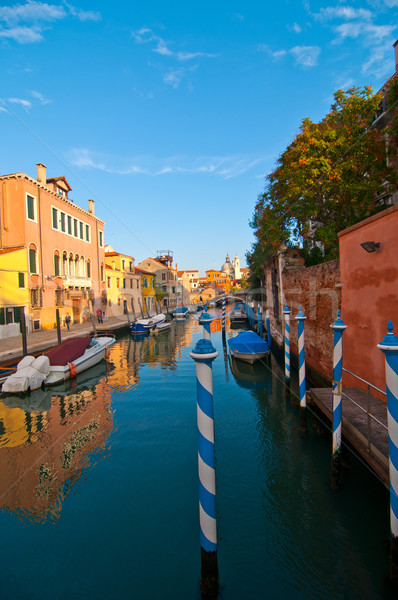 Venedik İtalya olağandışı görmek yer Stok fotoğraf © keko64