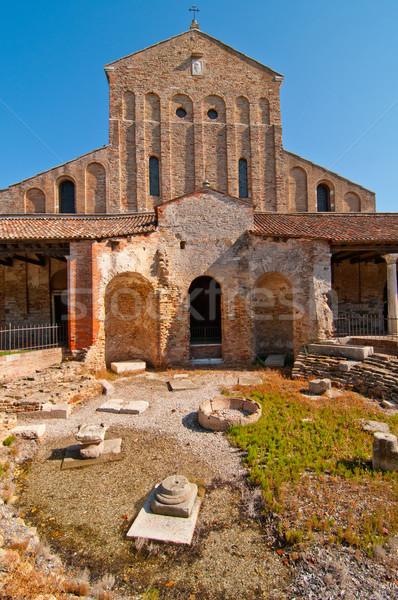 Venice Italy Torcello Church of Santa Fosca Stock photo © keko64