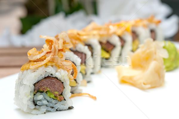 Японский суши маки свежие обеда Сток-фото © keko64