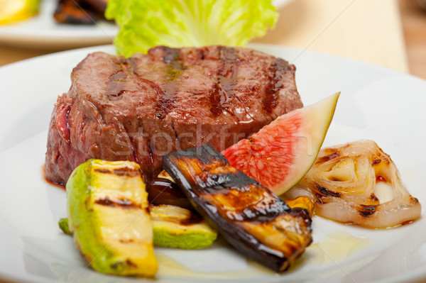 grilled beef filet mignon Stock photo © keko64