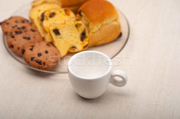 selection of sweet bread and cookies Stock photo © keko64