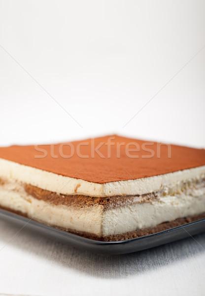 home made tiramisu dessert  Stock photo © keko64