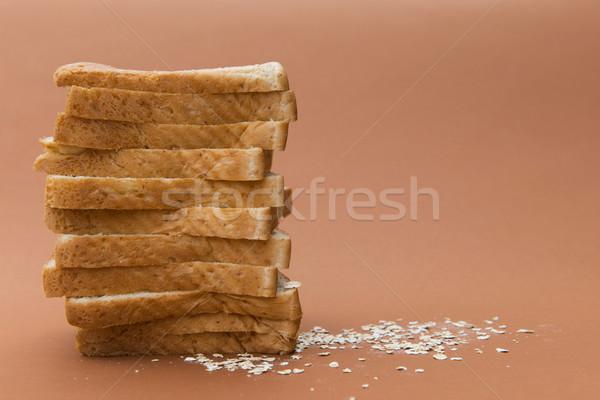 小麦 トースト パン 孤立した ブラウン ストックフォト © kenishirotie