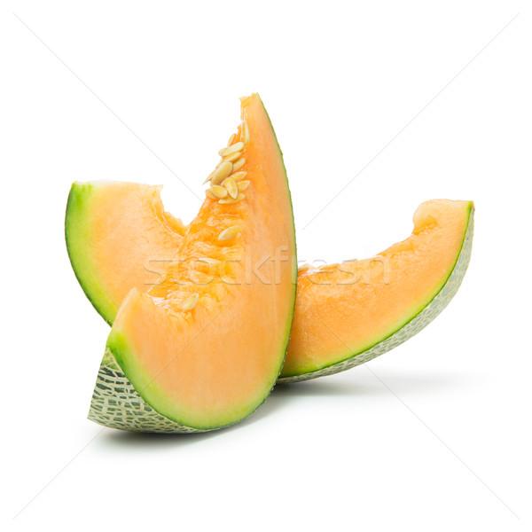 Cantaloupe slices Stock photo © kenishirotie
