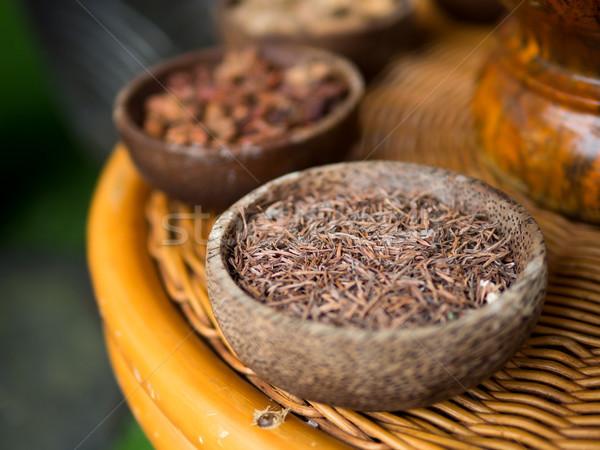 традиционный индонезийский специи используемый Spa Таиланд Сток-фото © kenishirotie