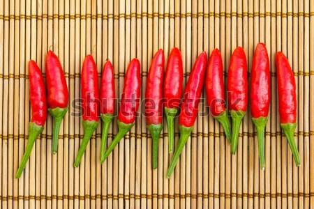 Red chilli Stock photo © kenishirotie