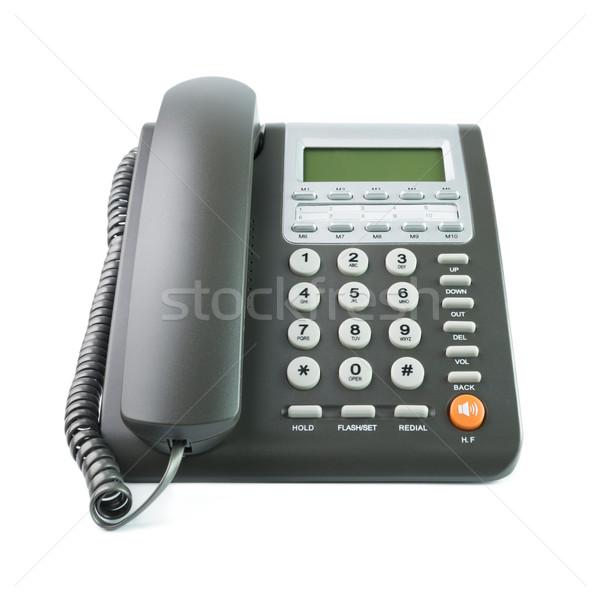 Office telephone Stock photo © kenishirotie
