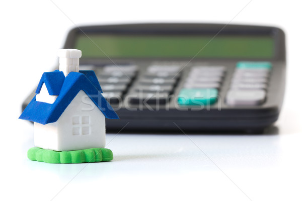 Mortgage calculator Stock photo © kenishirotie