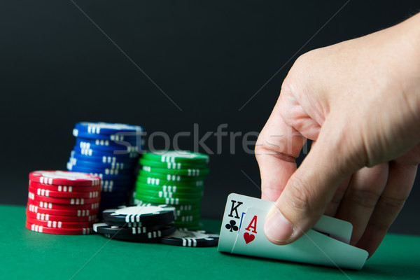 Blackjack Stock photo © kenishirotie