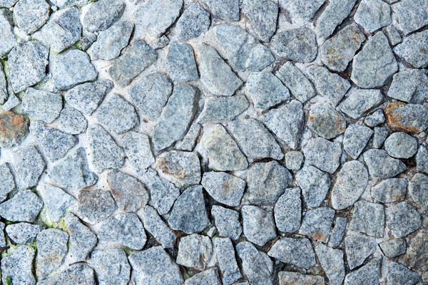 Stone wall texture background Stock photo © kenishirotie