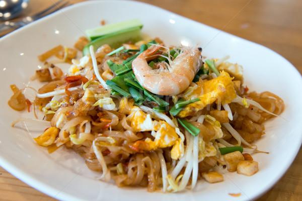 тайский креветок известный Таиланд жареный Сток-фото © kenishirotie