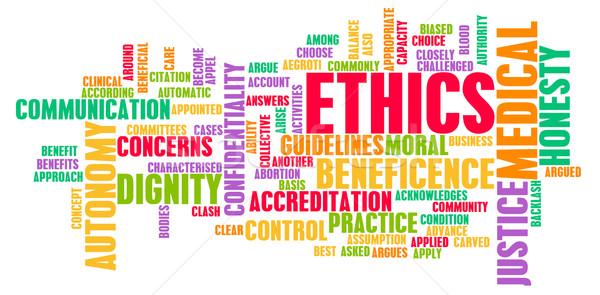 Medical Ethics Stock photo © kentoh