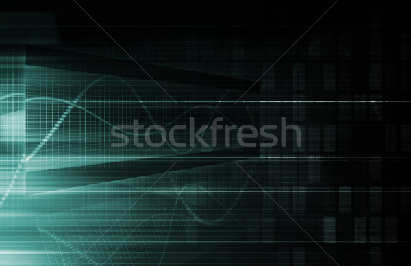 Digital Background Stock photo © kentoh