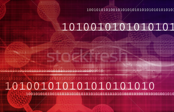 Molecular Structure Stock photo © kentoh
