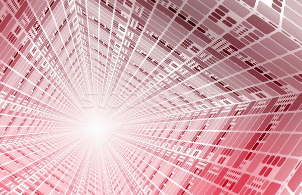 Genişbant Internet lif hızlandırmak bağlantı sanat Stok fotoğraf © kentoh