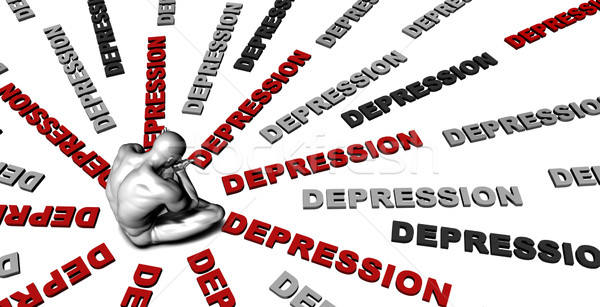 Depression Stock photo © kentoh