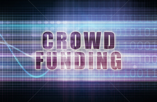 Stock photo: Crowdfunding