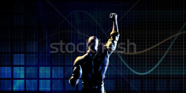 человека успех бизнеса бизнесмен профессиональных Сток-фото © kentoh